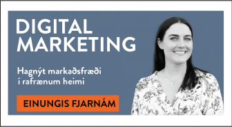 Digital Marketing - Stafræn markaðssetning