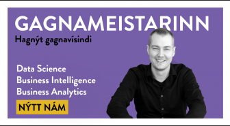 Gagnameistarinn - Data Science