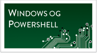 Windows og PowerShell